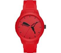 -Uhren Analog Quarz Rot 32012486