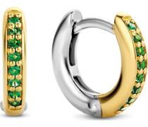 -Creolen 925er Silber Kristall One Size 32014818