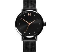 -Uhren Analog Quarz Schwarz 32014820