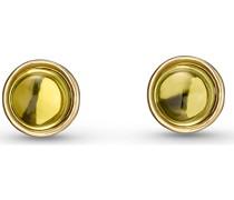 -Ohrstecker 375er Gelbgold Peridot One Size 87559491