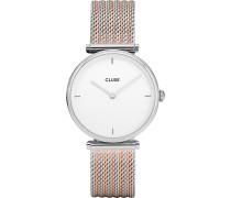 -Uhren Quarz One Size Edelstahl 87470644
