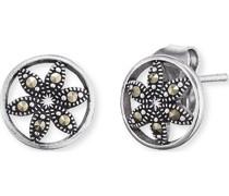 -Ohrstecker 925er Silber Markasit One Size 88054679
