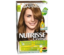 1 Stück Nr. 53 - Samt Braun / Macadamia Nutrisse Creme Intensivcoloration Haarfarbe