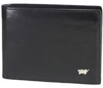 Basic Geldbörse Leder 11 cm