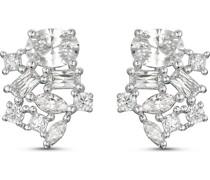 Silver-Ohrstecker 925er Silber 18 Zirkonia One Size 88006755