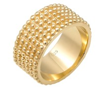 Ring Basic Bandring Dots Trend Cool 925 Silber