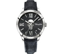 -Uhren Analog Quarz One Size Leder 86669714