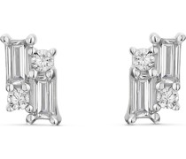 Silver-Ohrstecker 925er Silber 8 Zirkonia One Size 88006739