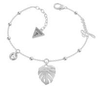 -Armband Edelstahl Swarovski-Kristall Silber 32015823