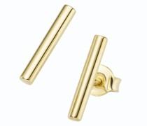 Ohrstecker Stäbchen, Gold 375