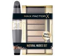 Golden Nudes + False Lash Effect (Black) Natural Bundle Make-up Set