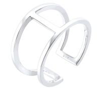 Ring Geo Minimal Trend 925 Sterling Silber Ringe