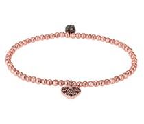 Armband Herz Symbol Swarovski® Kristalle 925 Silber