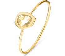-Ring Fr�hjahr 925er Silber Glasstein 50 32012339
