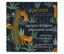 Pflanzenöl-Seife - Tigergras & Ingwer 100g