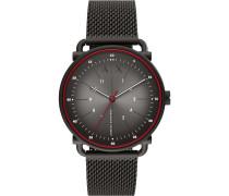 -Uhren Analog Quarz Schwarz 32012587