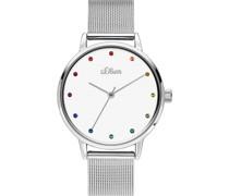 -Uhren Analog Quarz One Size Metall 87654991