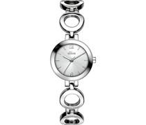 -Uhren Analog Quarz Silber/Blau Silber/Blau Metall 32003394