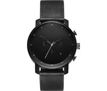 -Uhren Analog Quarz Schwarz/Schwarz 32002654