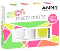 12 ml Nr. 22 Neon Meets Matte Nagellack Set