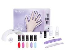 Sets Nagel-Make-up Nagellack Silber