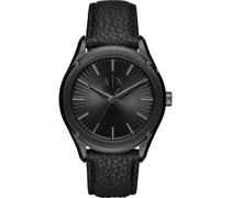-Uhren Analog Quarz Braun Leder 32010700