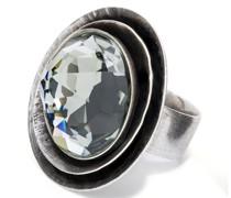 Ring Messing silber