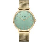 -Uhren Analog Quarz Gold 32014927