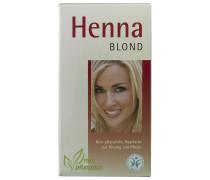 100 g Henna Blond Pflanzenhaarfarbe