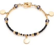-Armband Edelstahl, Glas One Size 88098781