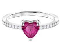 -Damenring Metall Kristalle 58 32004789