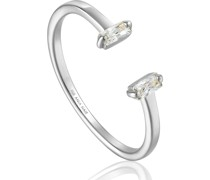 -Damenring Glow Adjustable Ring 925er Silber Zirkonia 32014141