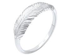 Ring Feder Flügel Boho Festival 925 Sterling Silber