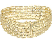 Armband glanz, Gold 585