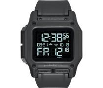 -Uhren Digital Quarz Grau Grau Kunststoff 32011877
