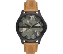 -Uhren Analog Quarz One Size Leder 32012591