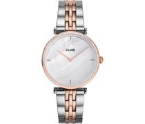 -Uhren Analog Quarz Roségold 32012797