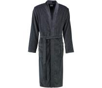 Bademantel Kimono 3714 anthrazit - 774