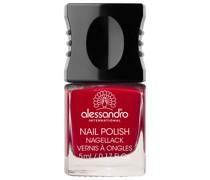 53 - Elegant Rubin Hot Red & Soft Brown Nagellack 10ml