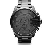 -Uhren Rund Analog Quarz One Size Edelstahl 86236958