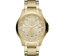 -Uhren Analog Quarz Gold Edelstahl 32001632