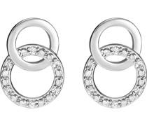 -Ohrstecker 375er Weißgold 12 Diamant One Size 87329046