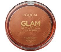 1 Stück  Glam Bronze Terra Powder Puder