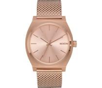 -Uhren Analog Quarz One Size Edelstahl 87385493