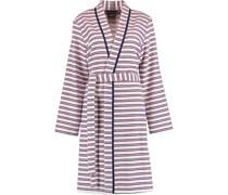 Bademantel Kimono Streifen 3341 soft pink - 26