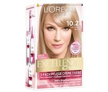 172 ml  Nr. 10.21 - Lichtperlblond Creme Color Haarfarbe