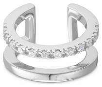 -Ear Cuff 925er Silber 12 Zirkonia 32014299