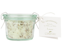 Badepuder Olive-Limone mit Blütenblätter Badezusatz 70g