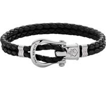 -Armband Female PHINITY SHACKLE Leder/Edelstahl L 32010394