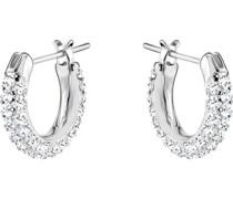 -Ohrstecker Metall Kristalle One Size 87542084